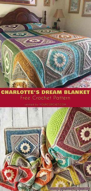 Padrão Livre Cobertor De Sonho De Charlotte