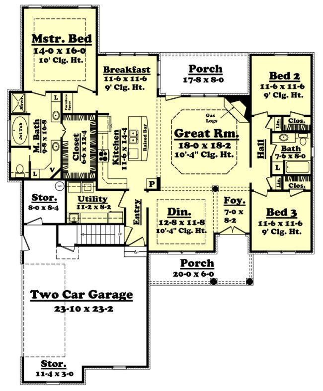 2000 Sq. Ft. House Plan [Nelson (20
