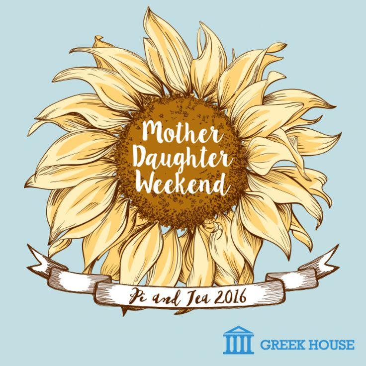 Moms Weekend T-Shirt | Greek Shirt Design | Greek House t shirt design ideas | Frat | fraternity | srat | sorority | rush | shirt design | Greek life | frat tank | design proof | greek apparel