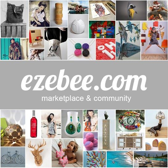 Buy and sell your #Upcycled Design at new Global Marketplace ezebee.com