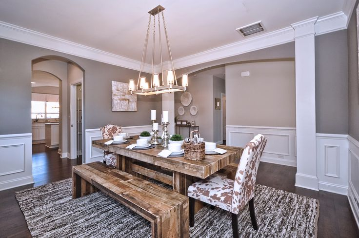Wakefield Model Home - Dining Room