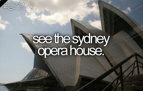 I want to go to Australia so much.
