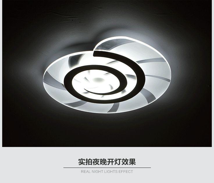 moderne led plafonnier salon lumires acrylique dcoratif abat jour cuisine lampe lamparas de techo moderne lampes
