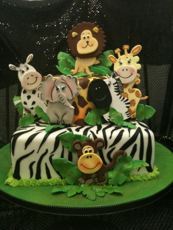 31 best Jungle Animal Cakes images on Pinterest Animal cakes