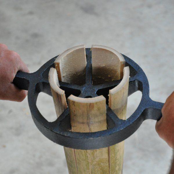Japanese Tools | Bamboo splitter 200mm from Bamboo Land Nursery (QLD Australia)