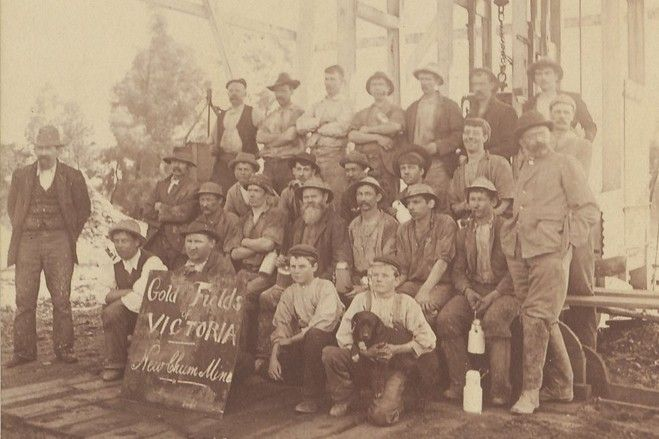 Bendigo Gold Fields Victoria, Australia.