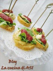 farinate mignon con salamino piccante La cucina di ASI