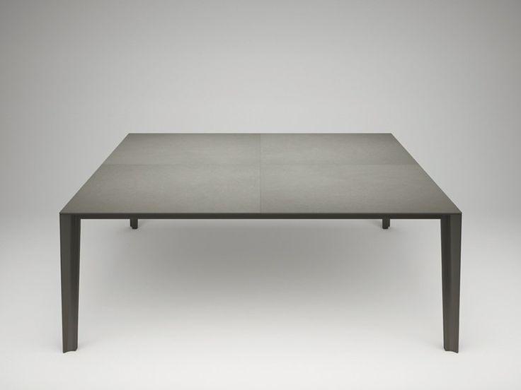 SKIN | Tavolo quadrato by Desalto | design Marco Acerbis