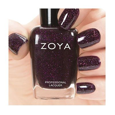 Zoya Zenith Winter Holiday Collection 2013 - Payton (ZP688) can be best described as a full-coverage, galactic cranberry with holographic glitter.  Family - Red, Plum, Burgundy  Finish - Holographic                           ...