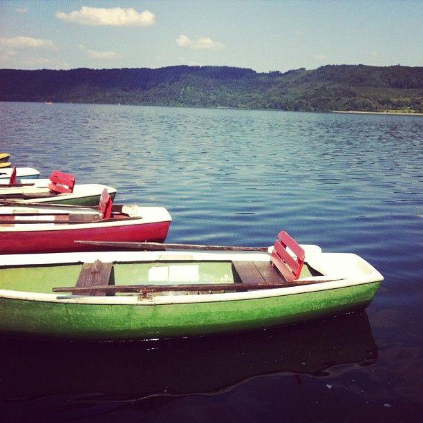Mein Sommerspot: Ruderbootromantik am Laacher See » Sonne & Wolken