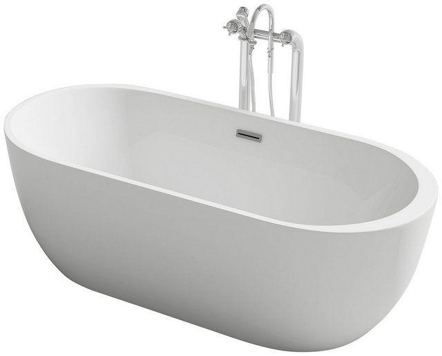 Badewanne Freistehende Wanne Rom 170 Cm Freistehende Wanne