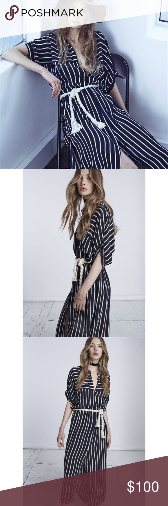 Faithfull the Brand Gigi Dress in Tilbury Stripe NWOT Amazing shirt dress. Buttons all the way down. No flaws, and never worn. Comes with belt and is in excellent condition! No longer sold online. Faithfull the Brand Dresses