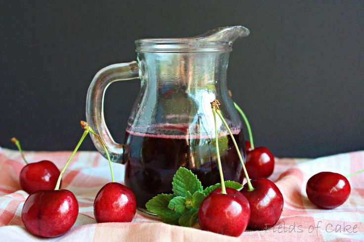 ❥fresh cherry syrup for just about everything via @Carrie Mcknelly Mcknelly Mcknelly Fields