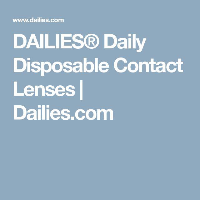 DAILIES® Daily Disposable Contact Lenses | Dailies.com