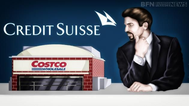 Credit Suisse upgrades Costco Wholesale Corporation (NASDAQ:COST), maintains EPS forecast for FY16.