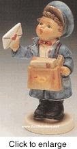 """Hummel figurine - """"Postman"""" HUM 199"""