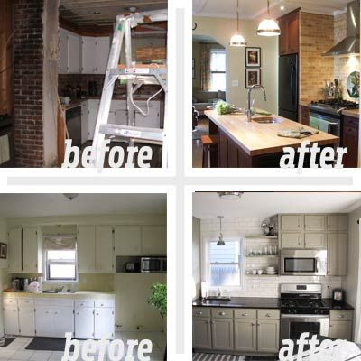 Remodeling Kitchen Ideas Before And After 18 best before and afters images on pinterest | before after