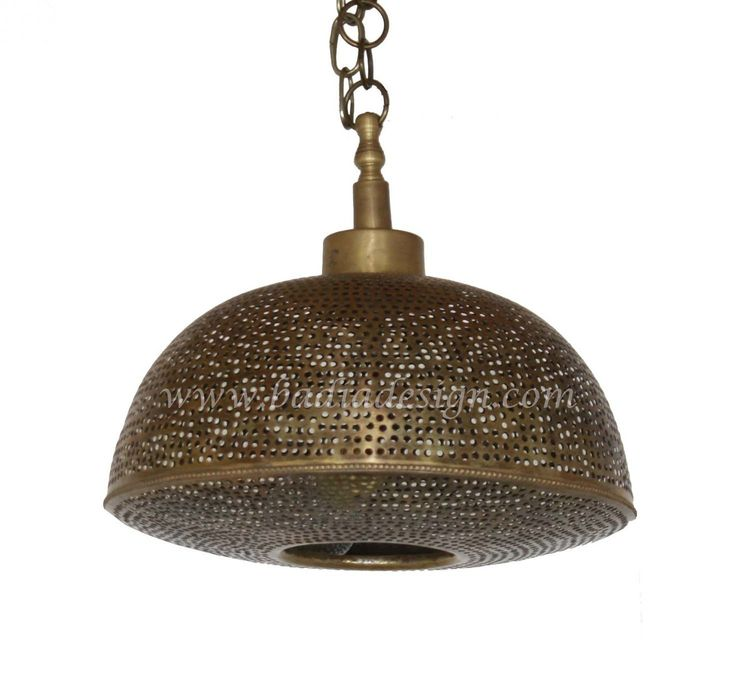 Small Brass Ceiling Light Fixture