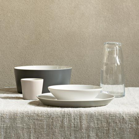 Tableware collection for Alessi, called Tonale, is based on ancient Korean stoneware (and features colours inspired by Italian still-life painter Giorgio Morandi).