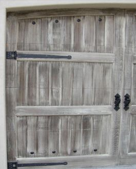 18 best garage doors images on pinterest wood garage for Old world faux painting