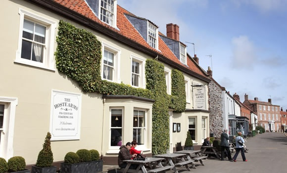 Burnham Market, North Norfolk, England - Norfolks loveliest village