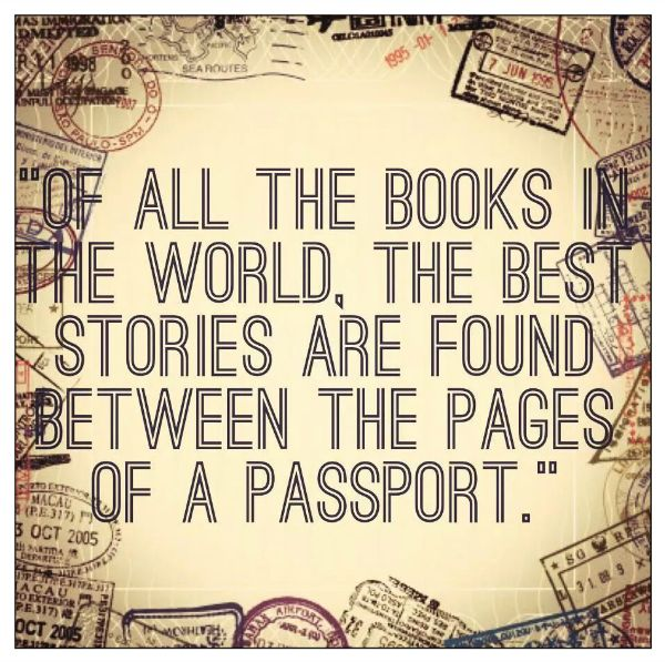 Don't let your dreams and adventures be confined to books! Take a trip to someplace today you always dreamt about.