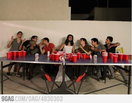 The Last Beer Pong Game