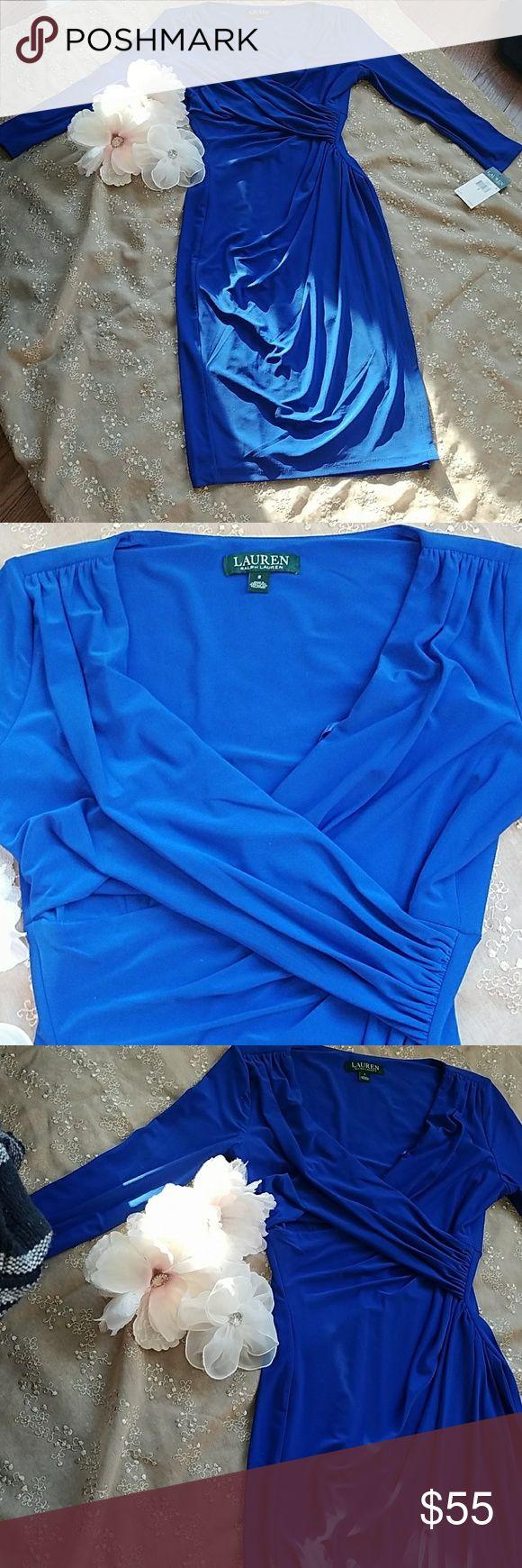 NWT Ralph Lauren dress Ralph Lauren blue dress new with original tags never worn Ralph Lauren Dresses