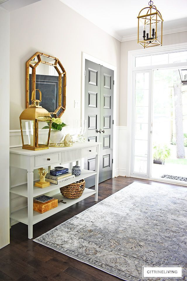 Simple Summer Decorating Ideas For Your Entryway Elegant Home