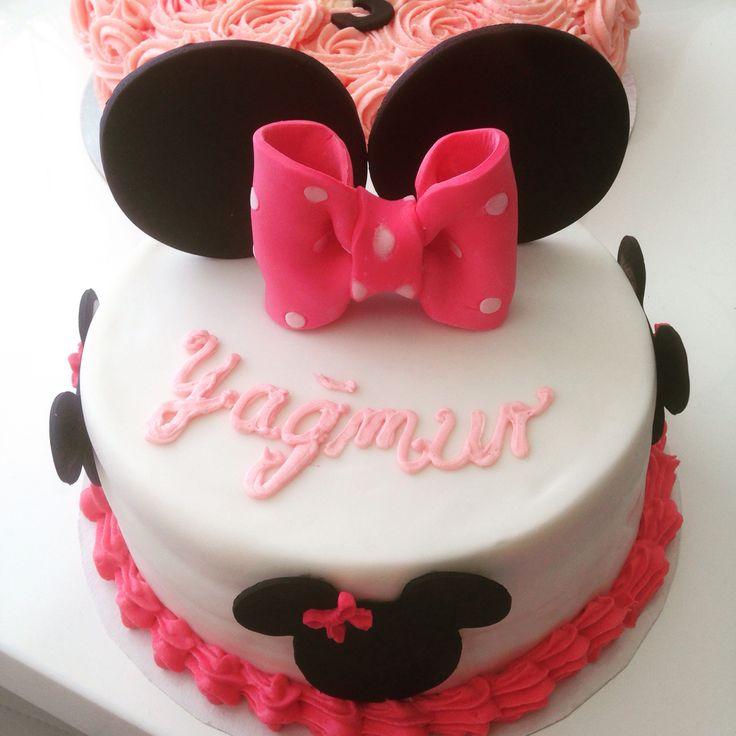 Minnie Mouse Cake Fondantcake