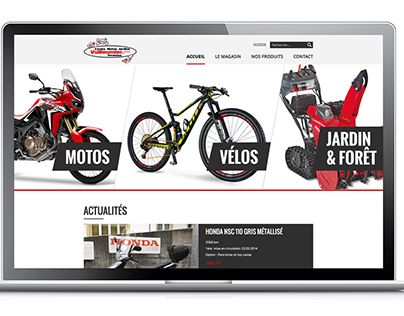 """Check out new work on my @Behance portfolio: """"Vuilleumier Cycles - Siteweb"""" http://be.net/gallery/47688851/Vuilleumier-Cycles-Siteweb"""
