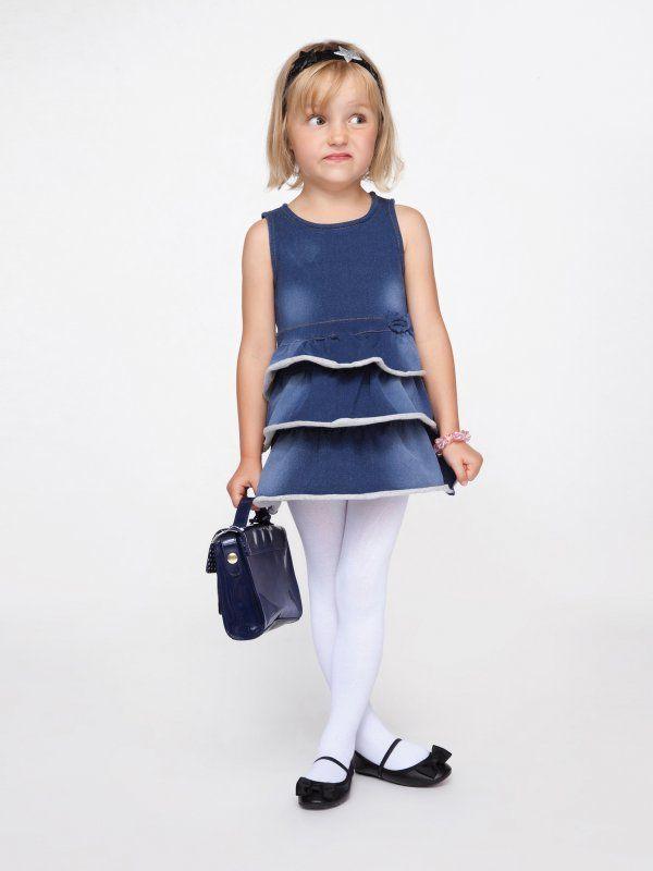 Jeansowa sukienka dla dziewczynki, #kids