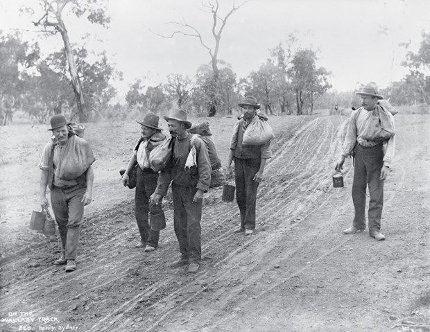 A nation in the making: the Tyrrell Collection_image26 - Australian Geographic  Australian Swaggies