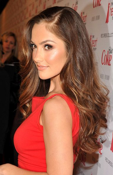 Girls Crushes, Hair Colors, Hairmakeup, Wavy Hair, Long Hair, Longhair, Hair Makeup, Minka Kelly, Hair Style
