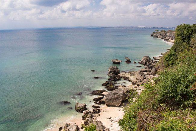 Kubu Beach from Above