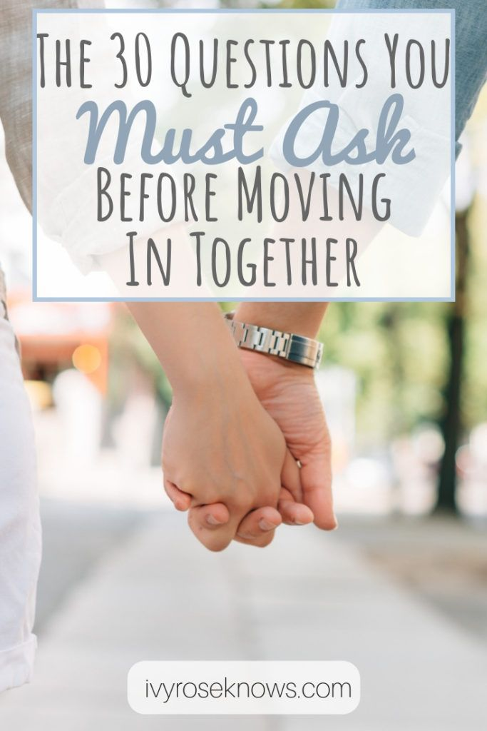 how long should a couple be dating before they move in together