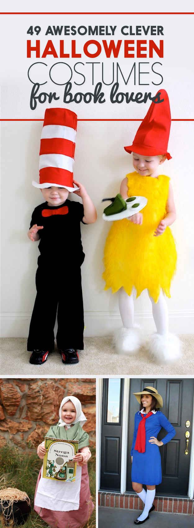 Best 25 literary costumes ideas on pinterest book characters 49 halloween costumes all book lovers will appreciate solutioingenieria Choice Image