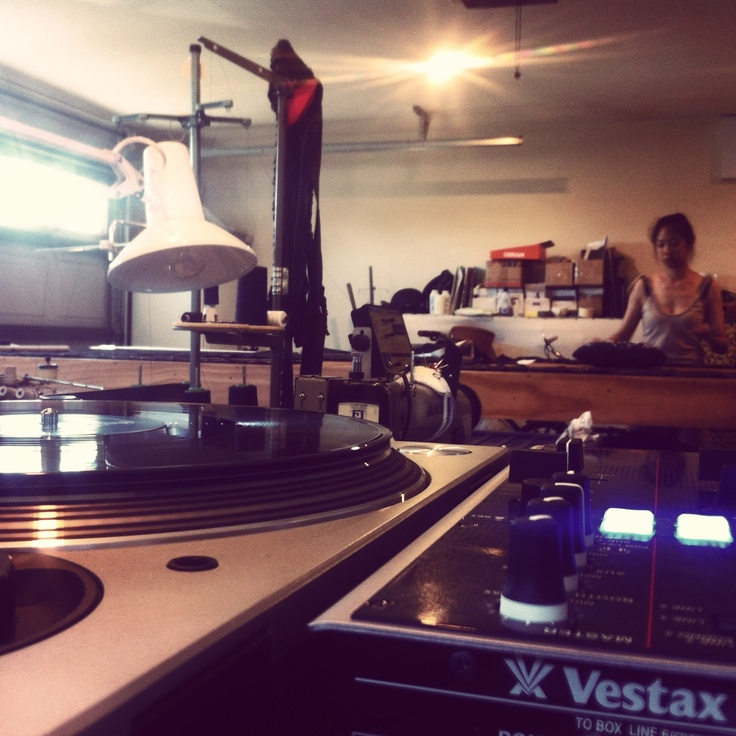 Another day at Studio MisteR - Vinyl  Beats and Fashion  Treats