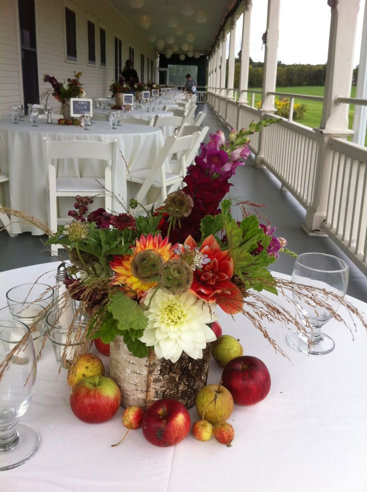 25 best ideas about september wedding centerpieces on for Wedding themes for september