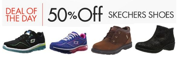 50% Off Skechers Shoes for Men & Women ~ Today Only! - http://www.swaggrabber.com/?p=291072