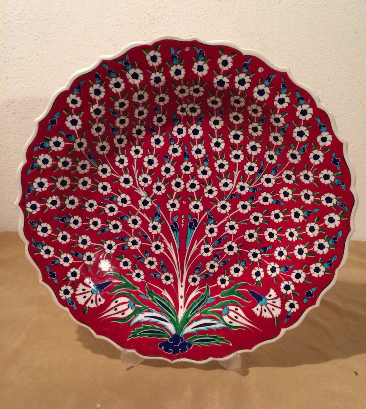 Free Shipping Turkish Ceramic Hand Painted Large by Turqu50