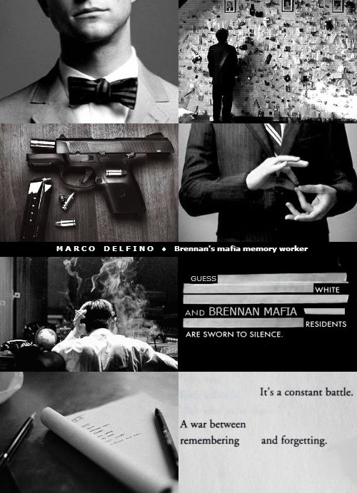 Marco Delfino aeshetic, inspired in the universe of courseworkers. A memory worker without memory. Anterograde amnesia.