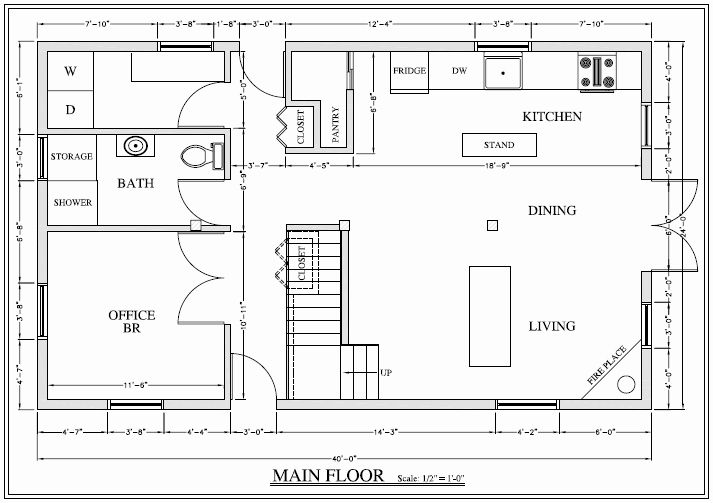 20 X 36 House Plans Awesome 960 Sqft B In 2020 New House Plans House Plans House Plan With Loft