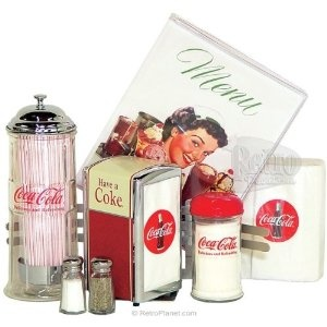 diner cokeTableware Sets, Cola Tableware, Kitchens Ideas, Retro Tableware, Vintage Cocacola, Coke Cola, Cocacola Retro, Coke Retro, Vintage Coca Cola Kitchens