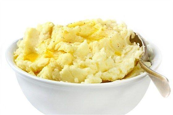 Пюре из картофеля и фенхеля с розмариновым маслом