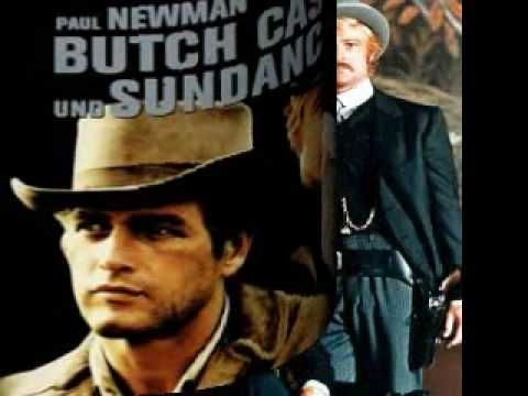 B.J.Thomas - Raindrops Keep Fallin' On My Head 1969  Butch Cassidy & the Sundance kid with Robert Redford & Paul Newman