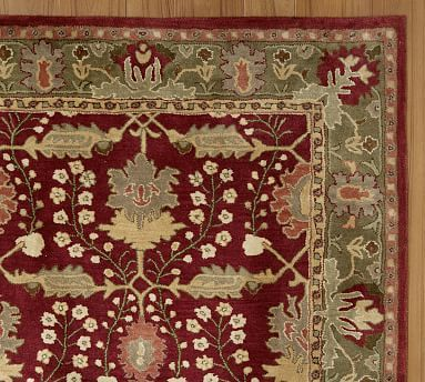 Franklin Persian-Style Rug Swatch #potterybarn