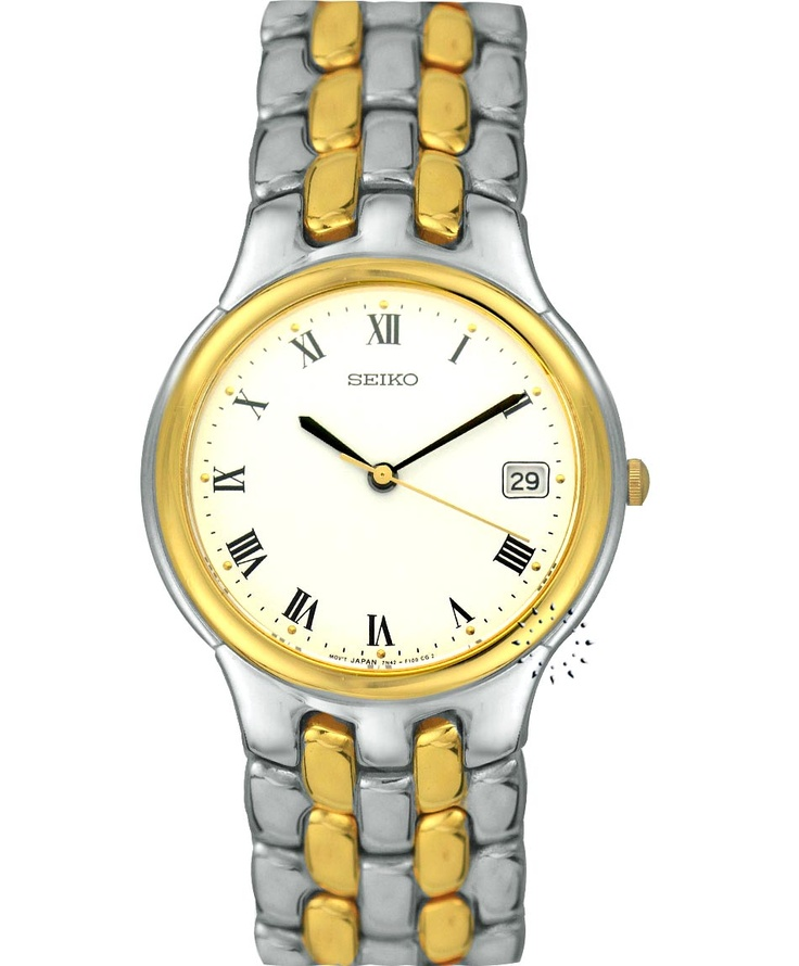 SEIKO Classic Two Tone Stainless Steel Bracelet Τιμή: 395€ Τιμή Προσφοράς: 79€ http://www.oroloi.gr/product_info.php?products_id=33809