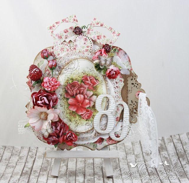 Flowers on your birthday - Camilla Støen Bakke - Stempelglede :: Design Team Blog