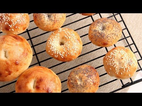 how to make bagels from scratch video
